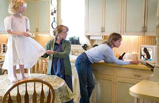Charlize Theron, Sissy Spacek, and Elle Peterson in North Country (2005)
