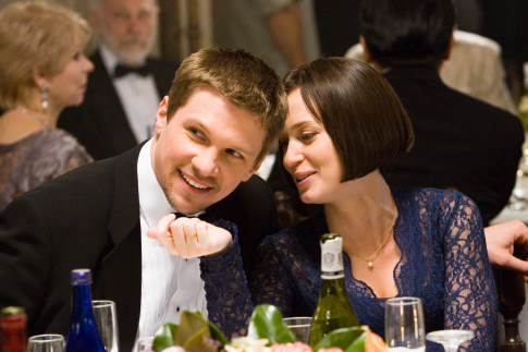 Marc Blucas and Emily Blunt in The Jane Austen Book Club (2007)
