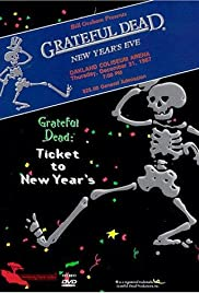 Grateful Dead: Ticket to New Year's Eve Concert Poster