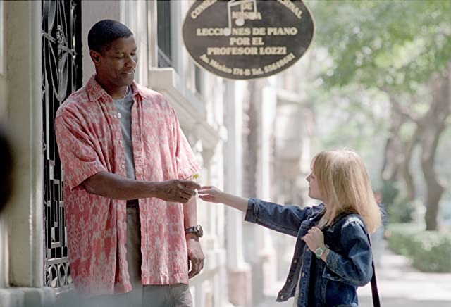 Denzel Washington and Dakota Fanning in Man on Fire (2004)