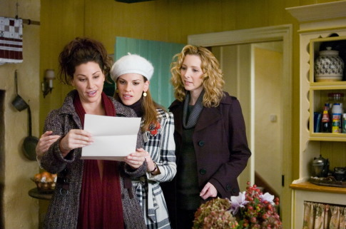 Gina Gershon, Lisa Kudrow, and Hilary Swank in P.S. I Love You (2007)