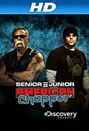 American Chopper: Senior vs. Junior Poster