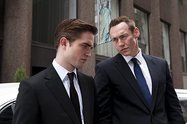Kevin Durand and Robert Pattinson in Cosmopolis (2012)