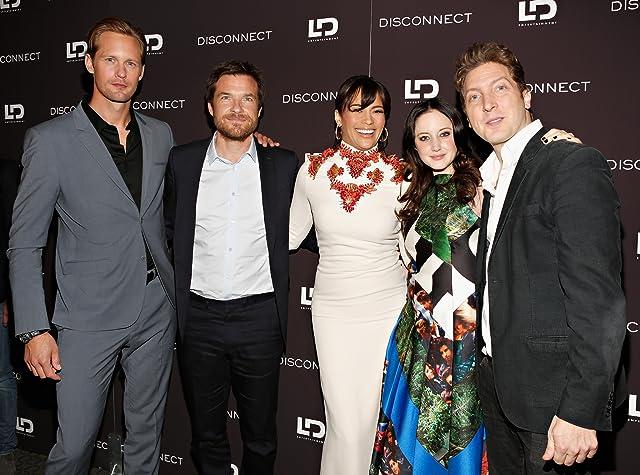 Jason Bateman, Alexander Skarsgård, Henry Alex Rubin, Paula Patton, and Andrea Riseborough at an event for Disconnect (2012)