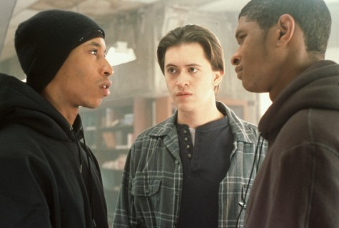Clifton Collins Jr., Usher Raymond, and Fredro Starr in Light It Up (1999)
