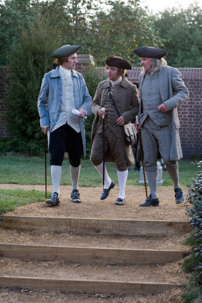 Paul Giamatti and Tom Wilkinson in John Adams (2008)