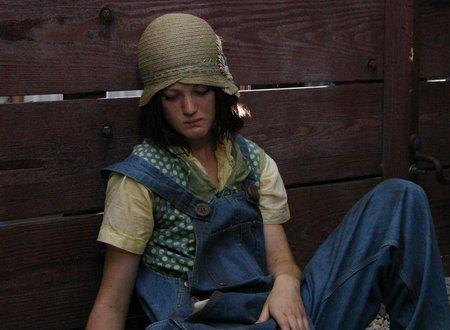Azura Skye as Ruby Bates in Heavens Fall