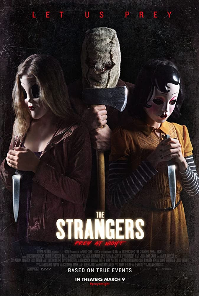 movie poster for The Strangers: Prey At Night