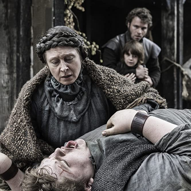 Annette Tierney, Sam Coleman, Matteo Elezi, and Fergus Leathem in Game of Thrones (2011)