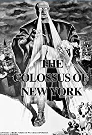 The Colossus of New York (1958) Poster - Movie Forum, Cast, Reviews