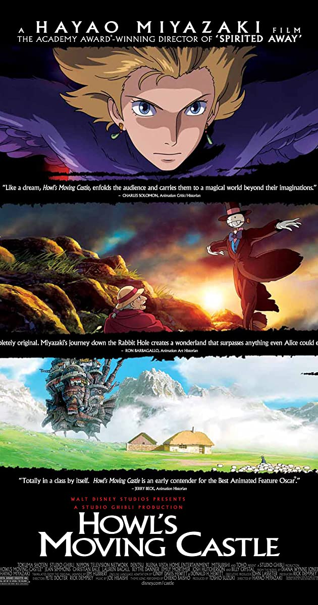 Howl's Moving Castle (2004) - IMDb