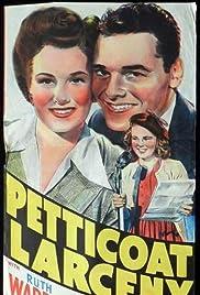 Petticoat Larceny Poster