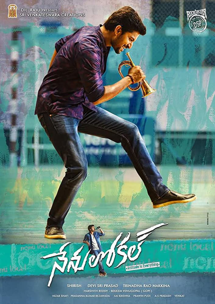 Nenu Local 2017 Telugu 720p HDTV x264 800MB