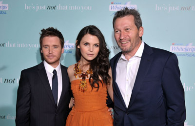 Kevin Connolly, Ginnifer Goodwin, and Ken Kwapis at He's Just Not That Into You (2009)