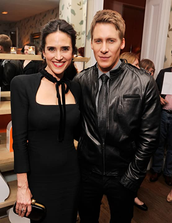 Jennifer Connelly and Dustin Lance Black at Virginia (2010)