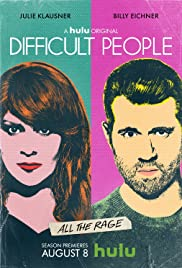 Difficult People Poster - TV Show Forum, Cast, Reviews