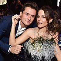 Kate Beckinsale and Orlando Bloom at an event for 32nd Film Independent Spirit Awards (2017)