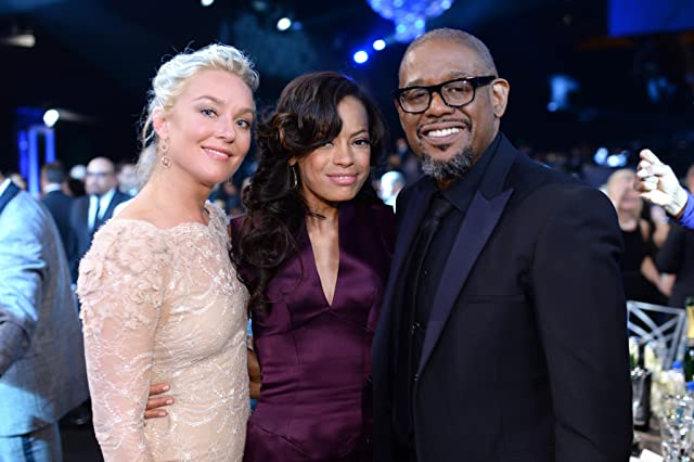 Forest Whitaker, Elisabeth Röhm, and Keisha Whitaker at 20th Annual Screen Actors Guild Awards (2014)