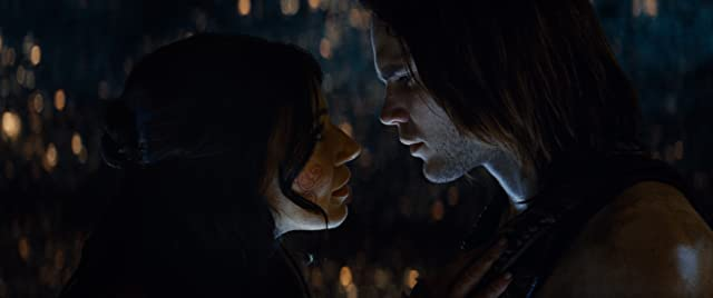 Lynn Collins and Taylor Kitsch in John Carter (2012)