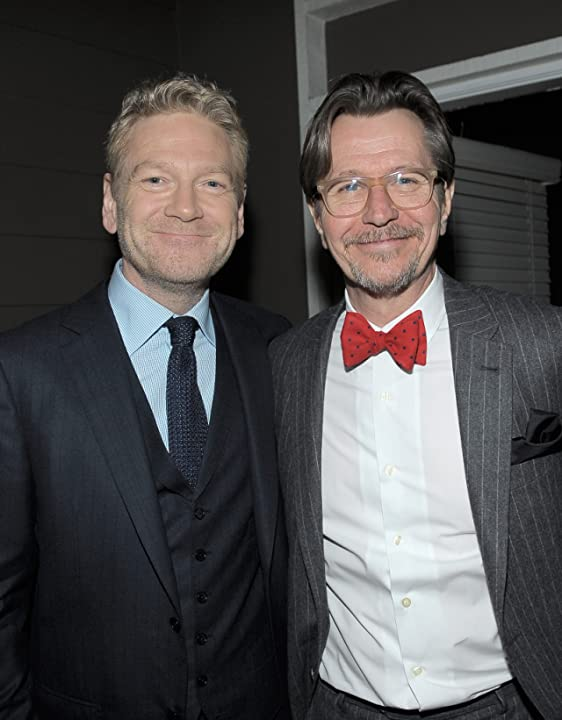 Kenneth Branagh and Gary Oldman