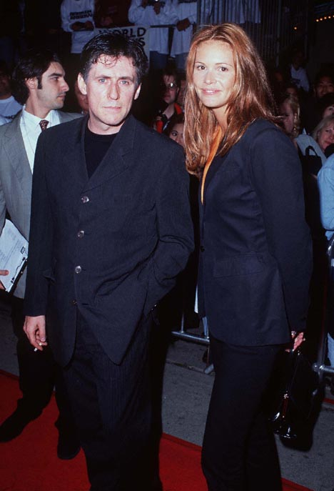 Gabriel Byrne and Elle Macpherson at an event for Broken Arrow (1996)