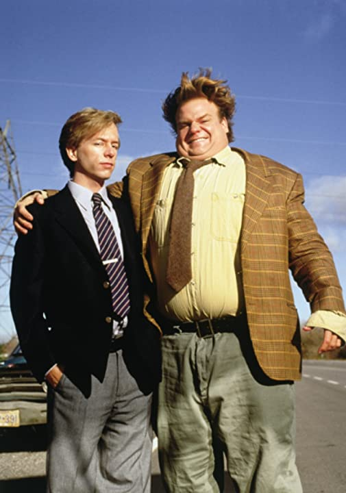 Chris Farley and David Spade in Tommy Boy (1995)