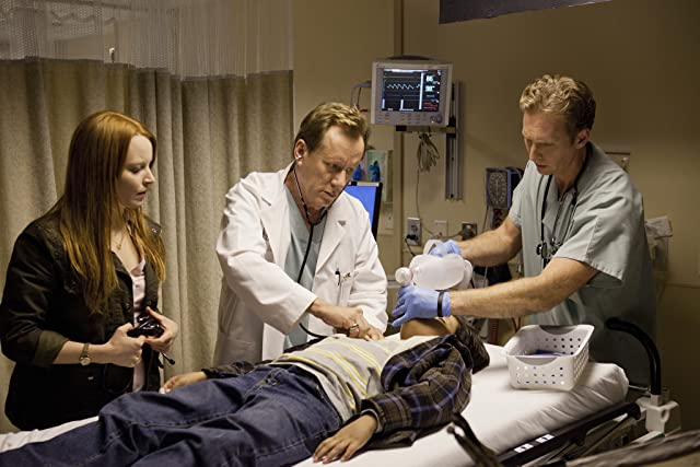 James Woods and Lauren Ambrose in Coma (2012)