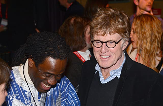 Robert Redford and Wil Calhoun