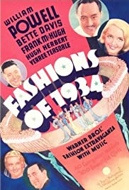 Fashions of 1934 Poster