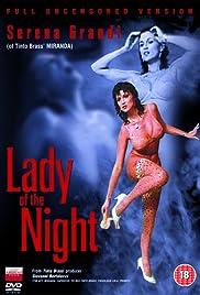 La signora della notte Poster