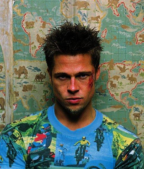 Brad Pitt in Fight Club (1999)