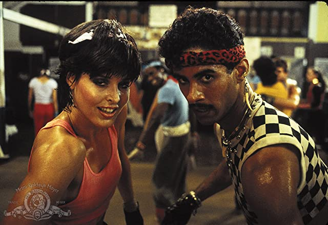 Lucinda Dickey and Adolfo Quinones in Breakin' 2: Electric Boogaloo (1984)
