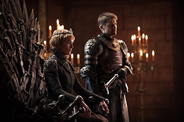 Nikolaj Coster-Waldau and Lena Headey in Game of Thrones (2011)
