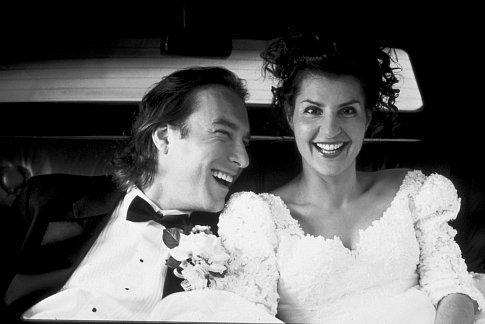 John Corbett and Nia Vardalos in My Big Fat Greek Wedding (2002)