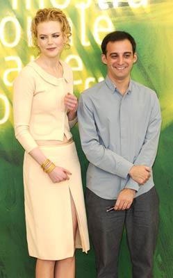 Nicole Kidman and Alejandro Amenábar at The Others (2001)