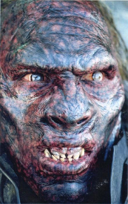 Sala Baker as Man Flesh Uruk in