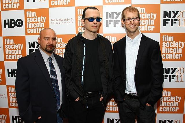 Jason Baldwin, Damien Wayne Echols, and Jessie Misskelley at Paradise Lost 3: Purgatory (2011)