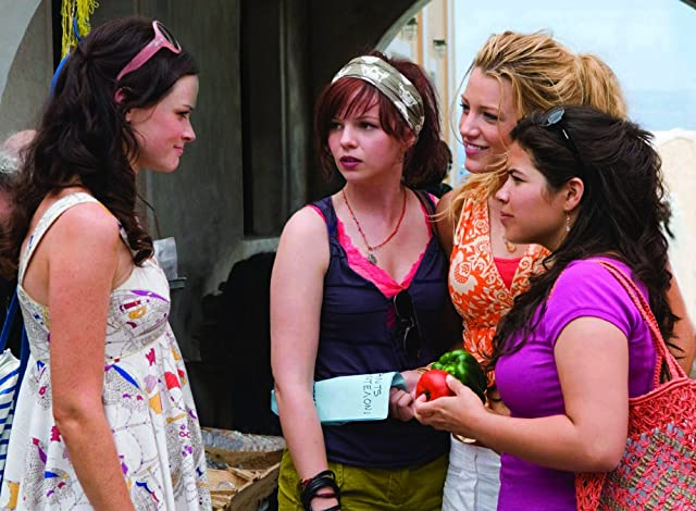 Alexis Bledel, Blake Lively, Amber Tamblyn, and America Ferrera in The Sisterhood of the Traveling Pants 2 (2008)