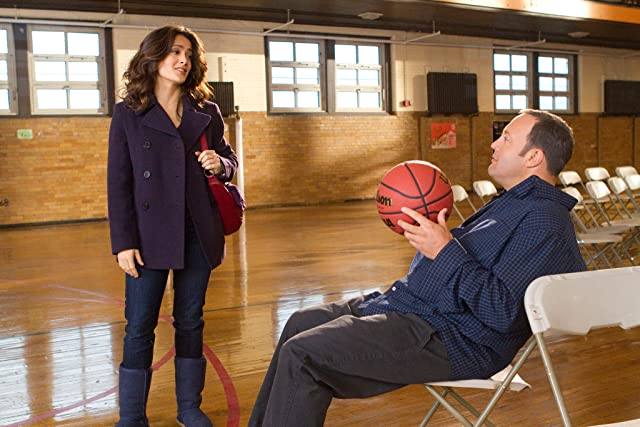 Salma Hayek and Kevin James in Here Comes the Boom (2012)