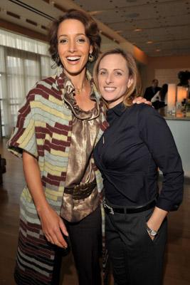 Jennifer Beals and Marlee Matlin