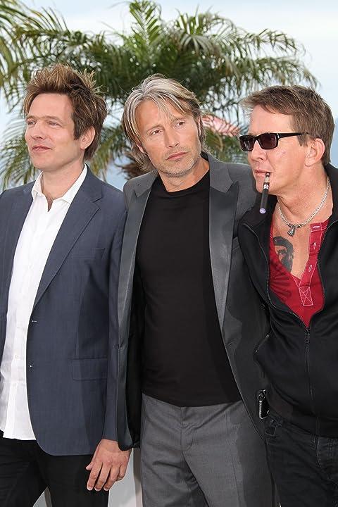 Thomas Bo Larsen, Mads Mikkelsen, and Thomas Vinterberg at The Hunt (2012)
