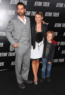 Natalie Maines and Adrian Pasdar at Star Trek (2009)