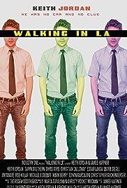 Walking in LA Poster