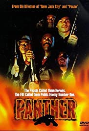 Panther (1995) Poster - Movie Forum, Cast, Reviews