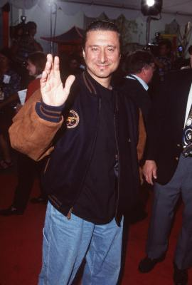 Steve Perry at an event for Quest for Camelot (1998)