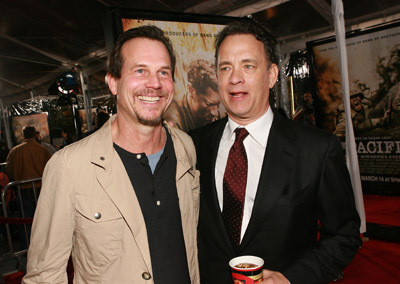 Tom Hanks and Bill Paxton at The Pacific (2010)