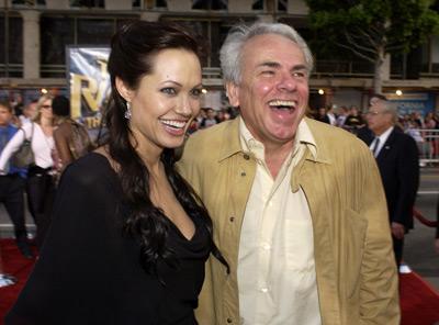 Jan de Bont and Angelina Jolie at Lara Croft Tomb Raider: The Cradle of Life (2003)