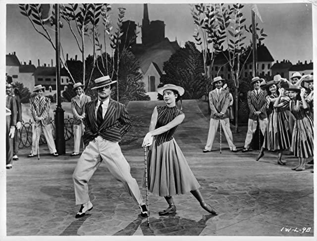 Gene Kelly and Leslie Caron in An American in Paris (1951)