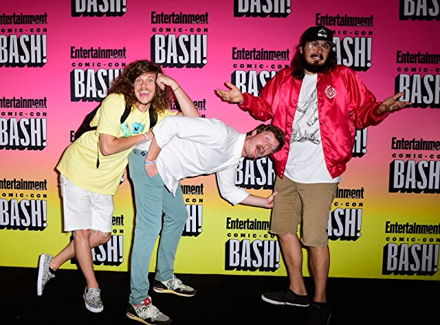 Kyle Newacheck, Anders Holm, and Blake Anderson