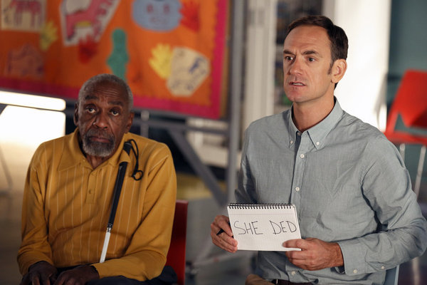 Bill Cobbs and Seth Morris in Go On: There's No 'Ryan' in Team (2012)